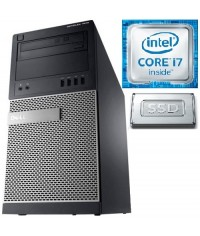 DELL Gamer 7010MT Intel®Core™i5-3470 3.6GHz 8GB RAM 128GB SSD+500GB HDD Nvidia GTx1050 2GB Windows 7/10 Pro