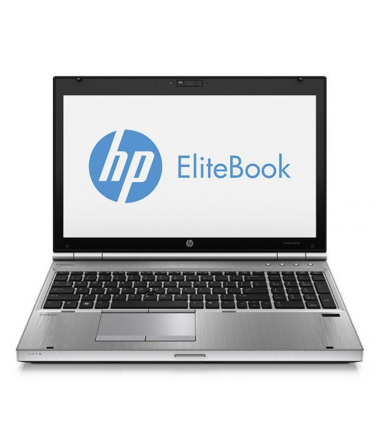 "HP EliteBook 8570p Intel® Core™ i5-3230@3.2GHz|4GB RAM|320GB HDD|DVD-ROM|BT|WiFi|CAM|15.6"" HD+
