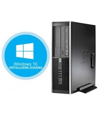 HP Compaq Elite 8300 SFF Intel® Core™ i5-3470 3.6GHz 4GB RAM 500GB HDD Windows 7 Professional ZDARMA Upgrade na Windows 10