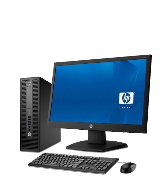 "HP EliteDesk 705G1 SFF+22""LED IPS Monitor+SET Kláv.a myška AMD®DualCore A4-7300B™@4GHz
