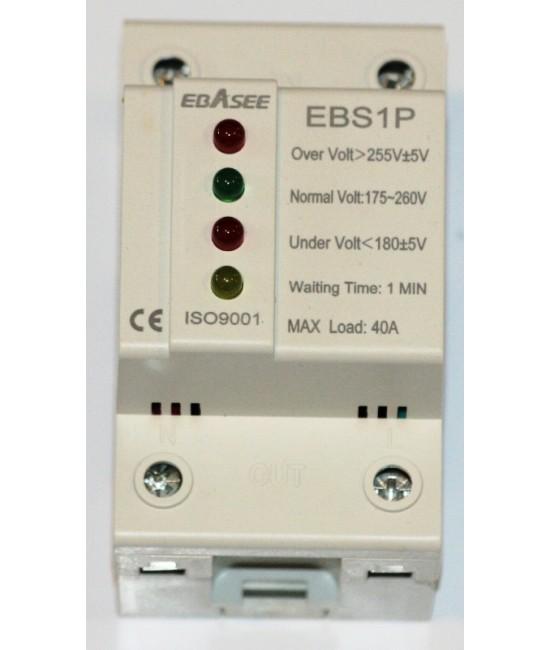 EBASEE EBS1P-40 Prepäťové relé strážiace napätie 230V +- 15%