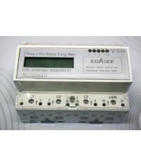 EBASEE DTSD13521 Digitálny elektromer 3Fázový