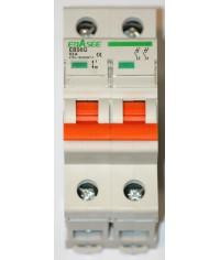 EBASEE EBS6G-63 63A 2Fázový Hlavný vypínač bez charakteristiky