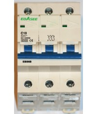 EBASEE EBS6B-63 C10A 3P 6kA