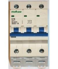 EBASEE EBS6B-63 C16A 3P 6kA