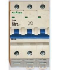 EBASEE EBS6B-63 C40A 3P 6kA